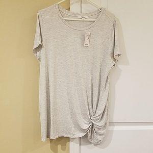 NWT Dressbarn Light Grey Shirt